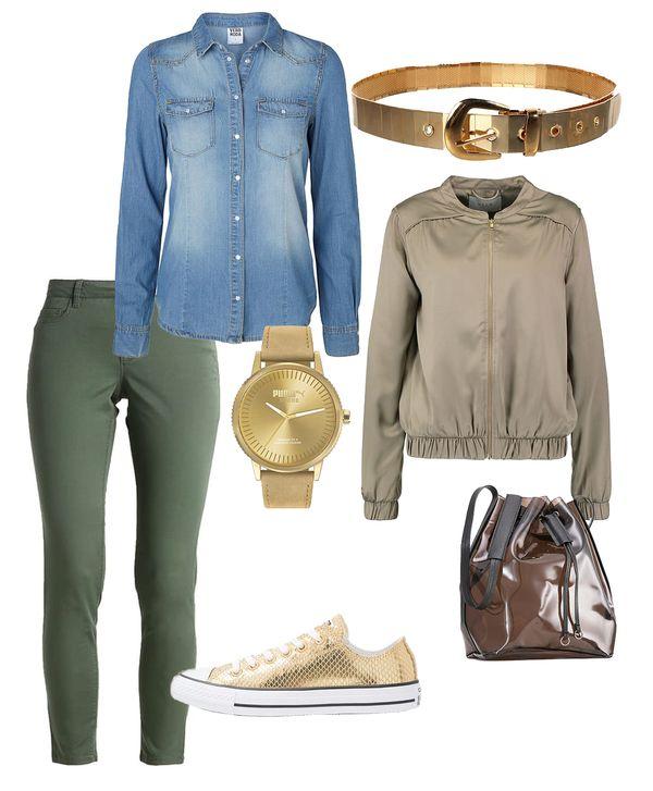 Buty w złotym odcieniu w roli głównej - zobaczcie 6 gotowych stylizacji (FOTO)