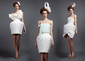 Fantazyjne sukienki od Phuong My (FOTO)