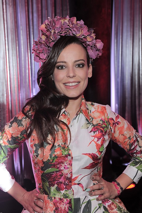 Anna Mucha w sukience marki Bizuu