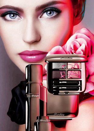 uroda, makijaż, guerlain, trendy, makijaż 2008, collection couleurs