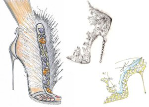 Projekty butów ślubnych dla Kate Middleton (FOTO)