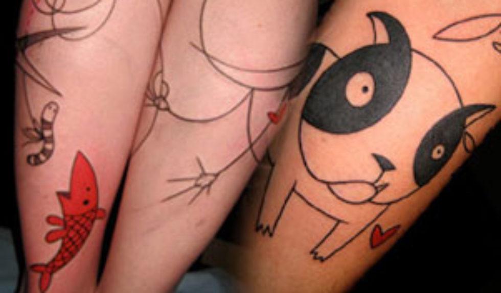 Tatuaże Yannou Nowa Moda Zeberka