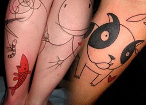 Tatuaże Yannou - nowa moda?