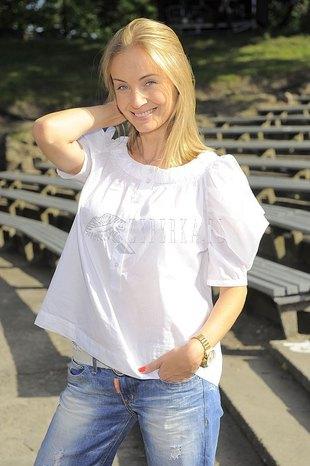 Agnieszka Szulim w wersji naturalnej