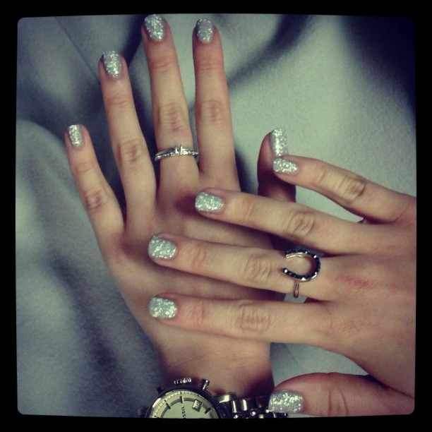 Zimowy manicure: Kensington Church Street Snowflake