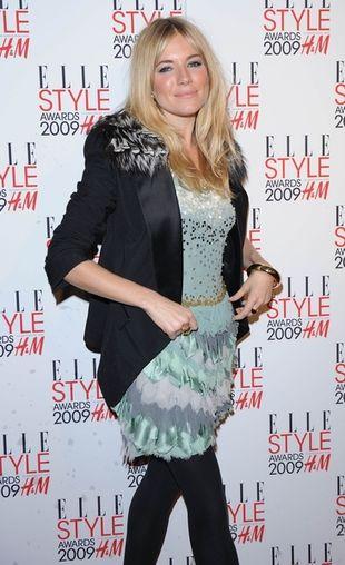 Sienna Miller ikoną stylu według Elle