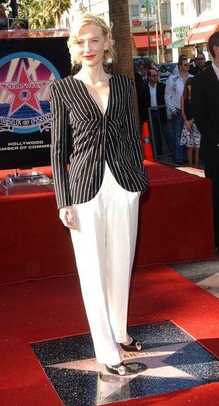 Cate Blanchett odbiera swoją gwiazdę