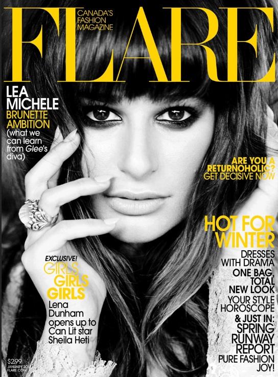 Lea Michele na okadkach popularnych magazynów
