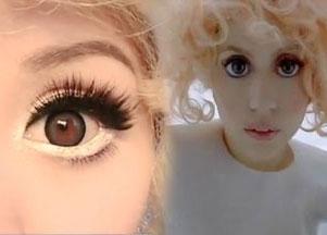 Makijaż w stylu Lady Gagi (VIDEO)