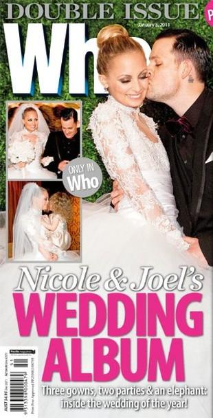 Suknia ślubna Nicole Richie