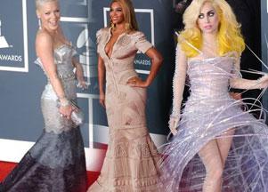 Kreacje gwiazd na gali Grammy Awards