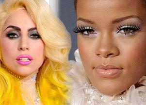 Fryzury i makijaże Grammy