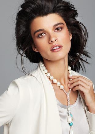 Crystal Renn w katalogu Spiegel