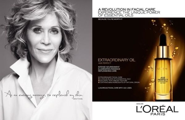 Jane Fonda, Doutzen Kroes i Tatjana Patitz dla L'Oreal!