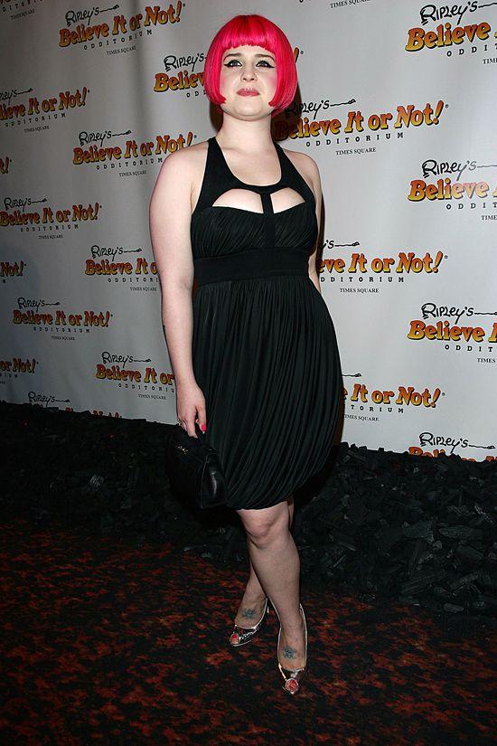 Metamorfozy Kelly Osbourne - gwiazda w roku 2007