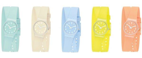 Bajecznie kolorowe zegarki Swatch (FOTO)