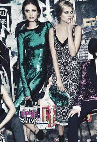 Gwiazdy modelingu dla Dolce & Gabbana