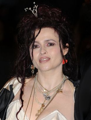 Helena Bonham Carter obok obowiązujących trendów