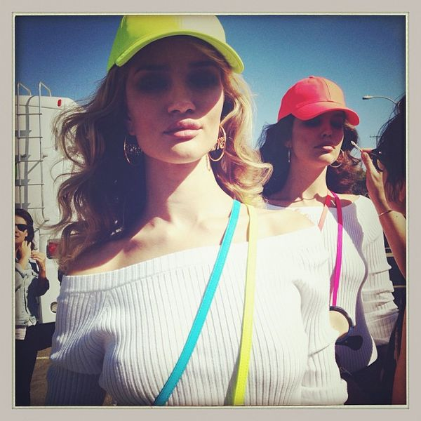 Rosie Huntington-Whiteley i zapowiedź kampanii Juicy Couture