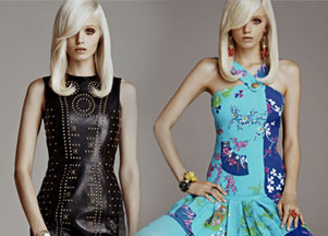 Versace for H&M - lookbook (FRAGMENT)
