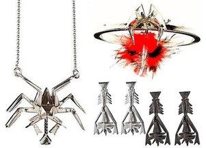 Biżuteria inspirowana owadami
