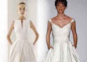 Suknie ślubne z kieszeniami?