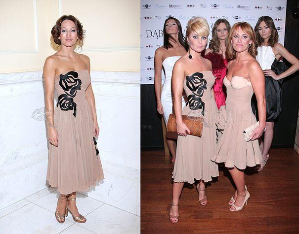 Steczkowska i Szabatin w takiej samej sukience