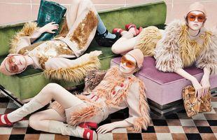 Plejada modelek w jesiennej kampanii Prady (FOTO)