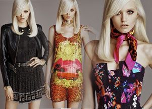 Lookbook H&M dla Versace (FOTO)