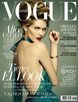 Zmysłowa Małgosia Bela dla Vogue Espana