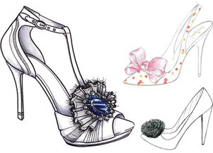 Kolejne propozycje butów ślubnych dla Kate Middleton (FOTO)