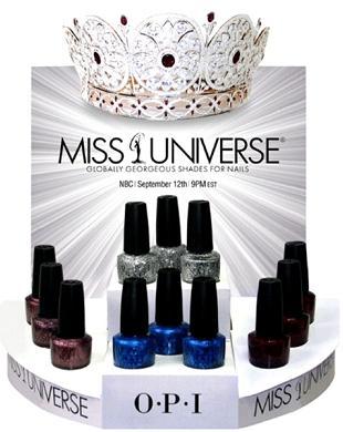 Miss Universe według OPI