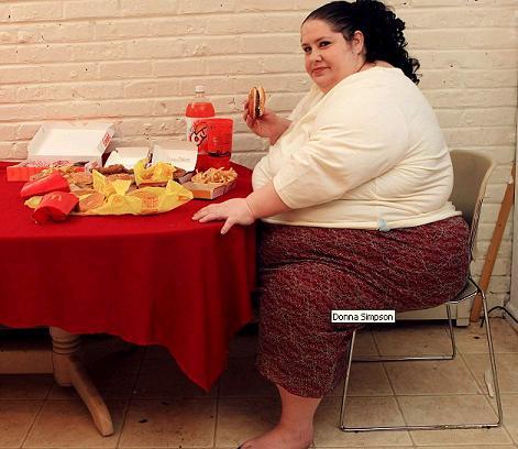 Donna Simpson chce być najgrubszą kobietą świata