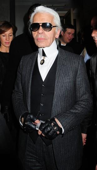 Karl Lagerfeld nie cierpi grubasów