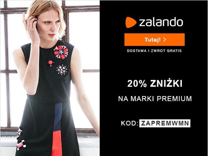 Produkty marek premium 20% taniej w Zalando!
