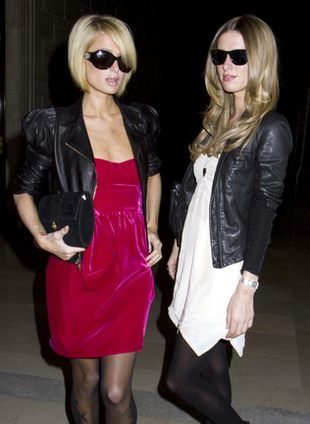 Stylowe Paris i Nicky Hilton