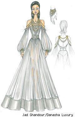 Najdroższa sukienka galowa na świecie