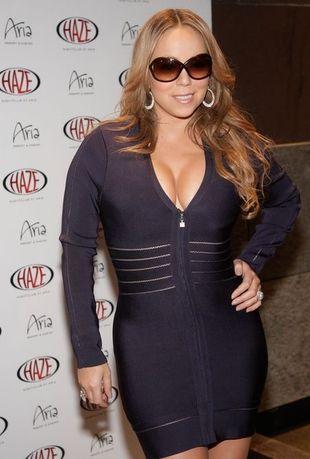 Upięta Mariah Carey