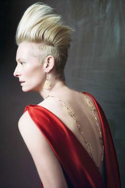 Tilda Swinton w kampanii Pomellato