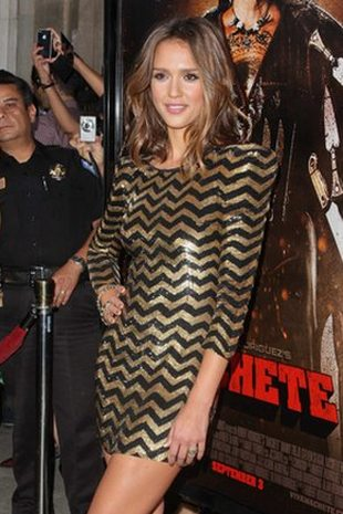 Jessica Alba w Balmain