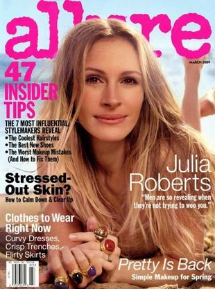Julia Roberts dla Allure