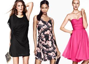 H&M - imprezowe sukienki (FOTO)