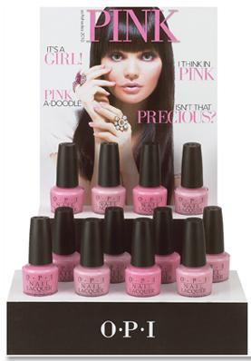 Różowa kolekcja lakierów do paznokci od OPI