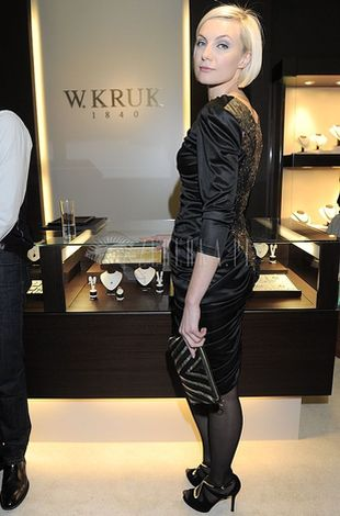 Sylwia Gliwa minimalistycznie w czerni