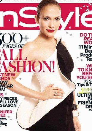 Czarno-biała Jennifer Lopez