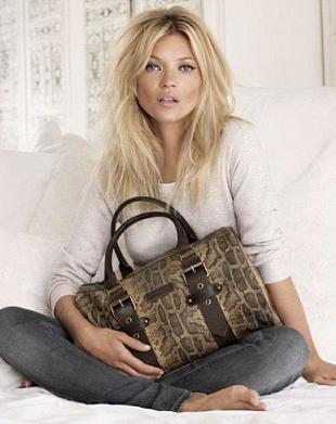 Kate Moss po raz kolejny dla Longchamp