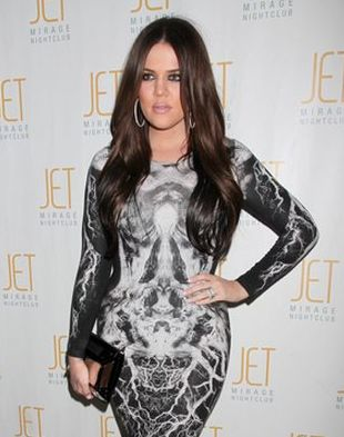 Khloe Kardashian w sukience Alexandra McQueena (FOTO)