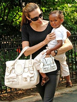 Angelina Jolie najbardziej stylową mamą