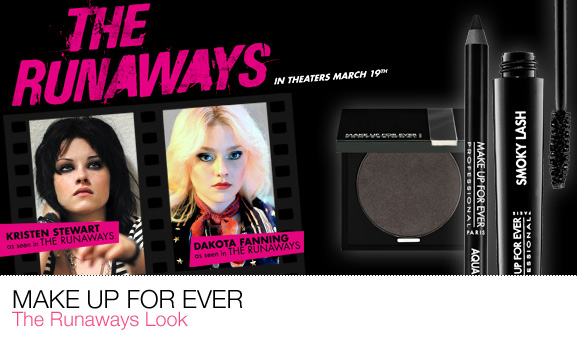 Kolekcja The Runaways od Make Up For Ever
