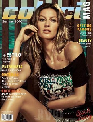 Gisele Bundchen na okładce magazynu Colcci